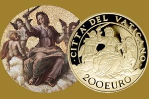 """Vaticano cierra el Año de la Misericordia con la """"Justicia"""" de Rafael"""