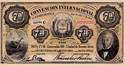 """VII Convención Internacional de Numismática """"Encuentro"""