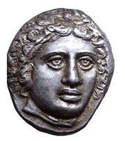 La mitología y la moneda: Rodas