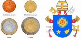 El rostro del Papa se eliminará en las nuevas monedas del Vaticano