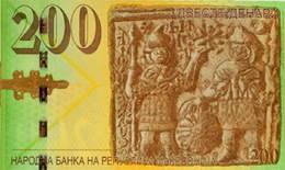 Nuevos billetes de 200 y 2.000 dinares en Macedonia