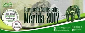 Primera Convención Numismática de Mérida.