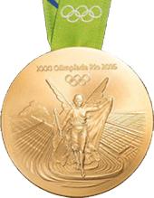 Las medallas olímpicas de Río 2016: ecológicas y más pesadas