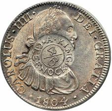 Los resellos británicos de 1797 y 1804 sobre moneda española y su falsificación