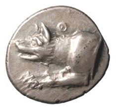 La Mitología y la moneda: Argos