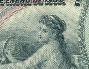 El billete de 500 pesetas del 28 de enero de 1907