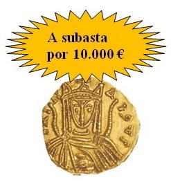 Mártí Hervera, Soler & Llach ponen a la venta un sólido bizantino de Irene