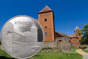"""Serie VI """"Castillos de Hungría"""": el Castillo de Kőszeg en 10.000 forintos plata"""
