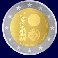 Estonia ya tiene el diseño de su moneda conmemorativa.