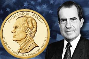 """Richard M. Nixon en la Serie """"Dólares Presidenciales"""""""