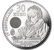 IV Centenario de la muerte de Cervantes en 30 euro