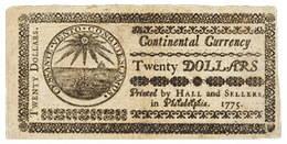Franklin y el papel moneda colonial en los Estados Unidos