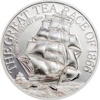 """Islas Cook y """"La carrera del té de 1866"""""""
