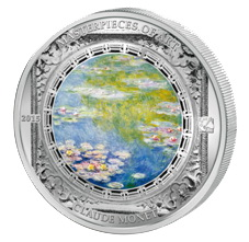 """Nenúfares"" de Monet en la serie ""Obras Maestras del Arte"""