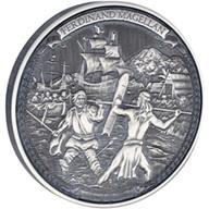 Niue recuerda a Fernando de Magallanes en 2 onzas plata