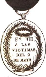 La Medalla de las Víctimas del Dos de Mayo de 1808