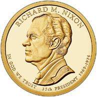 """""""Dólares Presidenciales"""" USA: Richard M. Nixon"""