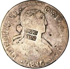 Los resellos de las repúblicas americanas sobre moneda española