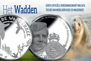 El Mar de Wadden y su ecosistema en 5 euros plata