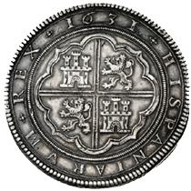 Cincuentines de 1631 y 1632 en Künker