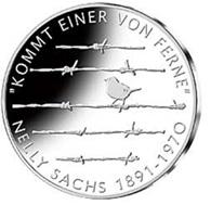 125 Aniversario del Premio Nobel de Literatura Nelly Sachs