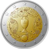 Francia y sus 2 euros del Campeonato UEFA Euro 2016