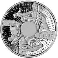 Letonia reedita la Primavera de la serie Monedas de las Estaciones