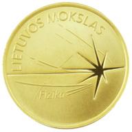 """""""Ciencias de Lituania"""": Física en 5 euros oro"""