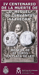Carterita para el IV Centenario de la Muerte de Cervantes