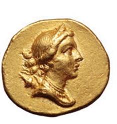 La mitología y la moneda: Éfeso