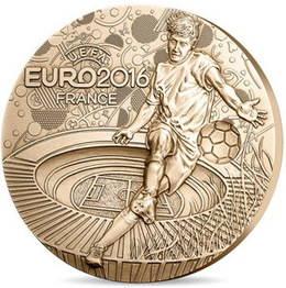 Las medallas de la Eurocopa UEFA Francia 2016
