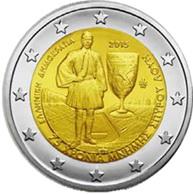 2 Euros de Grecia en memoria de Spyros Louis