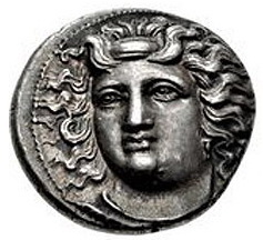 La mitología y la moneda: Tesalia