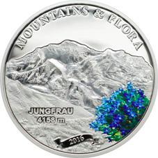 """""""Montañas y Flora"""" en 5 dólares de Palaos 2016"""