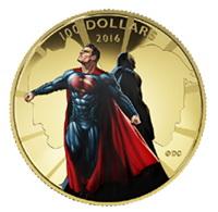 """Canadá promociona en oro """"Batman Vs. Superman"""""""
