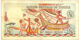 Túnez, animada serie de Dinares de 1965