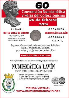 60 Convención y Feria del Coleccionismo de Numismática Lavín