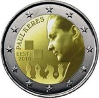 2 Euros de Estonia para el campeón de ajedrez Paul Kares