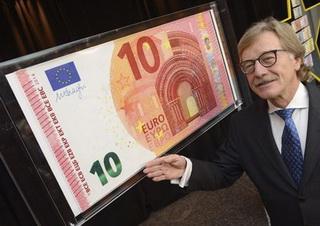 Presentado el nuevo billete de 10 euro