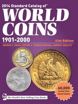 "41 Edición del ""Standard Catalog of World Coins 1901-2000"""