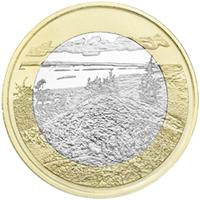 Parque Nacional de Koli nueva moneda finesa
