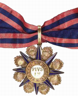 Órdenes y Condecoraciones Pontificias (I)