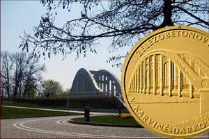 5.000 Coronas checas para el puente ferroviario de Karviná-Darkov