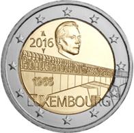 "Puente ""Gran Duquesa Carlota"" en 2 euros de Luxemburgo"