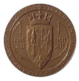 La batalla de Las Navas de Tolosa en una medalla centenaria de Bartolomé Maura