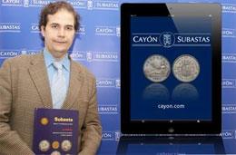 """""""En el ámbito de las aplicaciones tecnológicas, Cayón Subastas lleva una ventaja de 6 a 7 años con respecto a la competencia"""""""