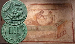 Spintria, la ficha erótica de la Antigua Roma