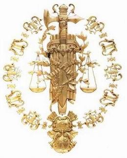 Bicentenario del Tribunal Supremo del Reino de España: Los Distintivos de la Justicia