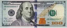 """¡Ya circulan los """"benjamines"""" de 100 dólares!"""