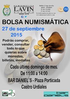 Numismática Lavín reanuda su Bolsa Numismática en Castro Urdiales